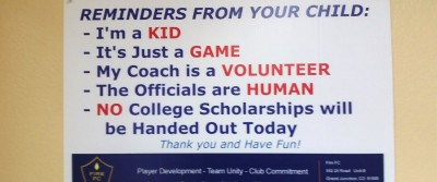 Top 10 Reasons Why Youth Sports Parents Are Crazy