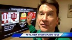 Blue Monday Breakfast with Kent – Colts @ Jets; IU bowls Santa Clara; Crean chest bumps Bryant